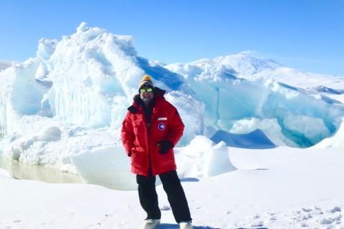 Mike Penn in Antarctica