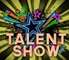 """Sign saying """"Talent Show"""""""