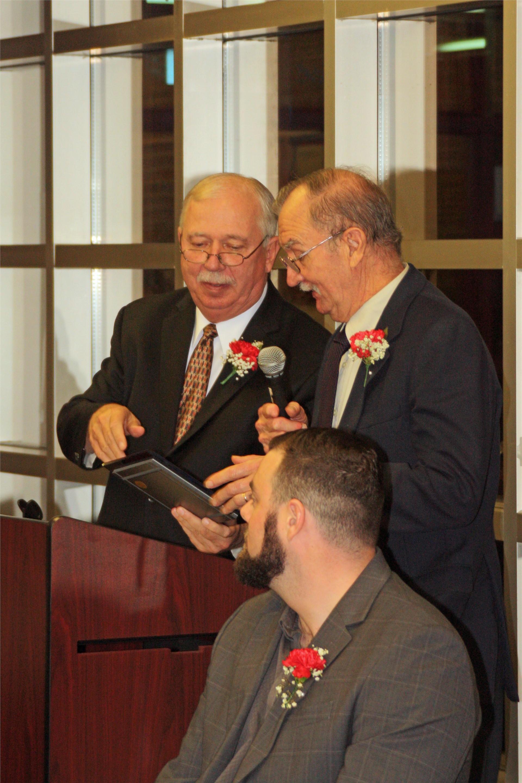 Bibby Hammill award acceptance