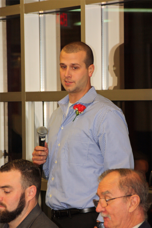 Nick Sefscik acceptance speech