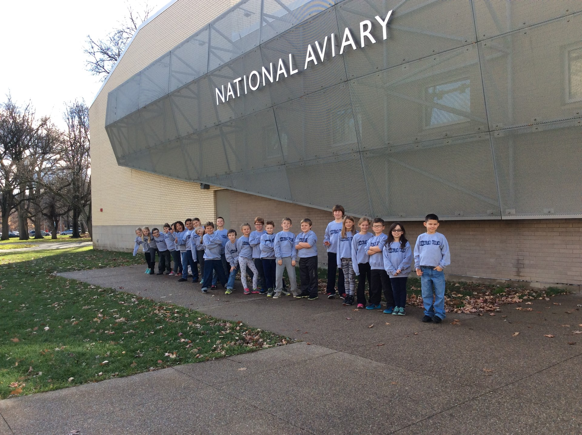 Reserve Primary visits the National Aviary