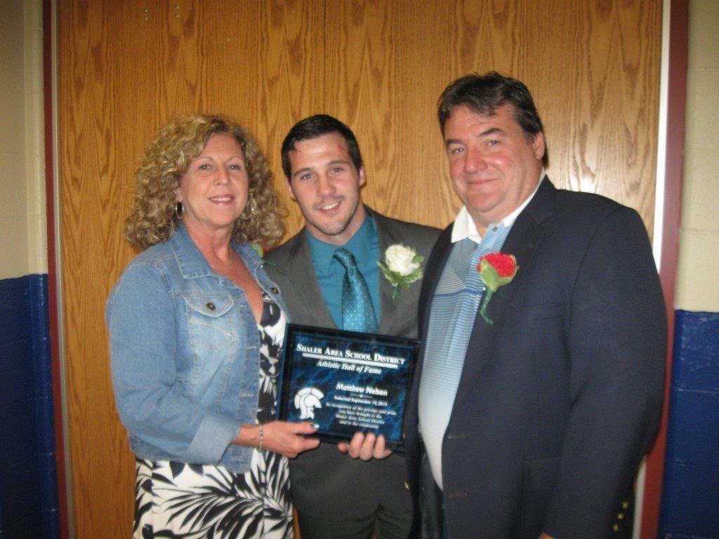 Matt Nelson and Parents