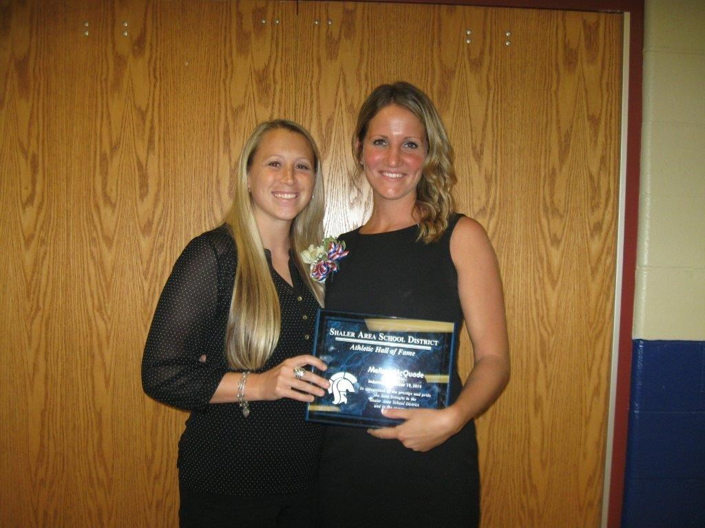 Melissa McQuade with Gina Mullen