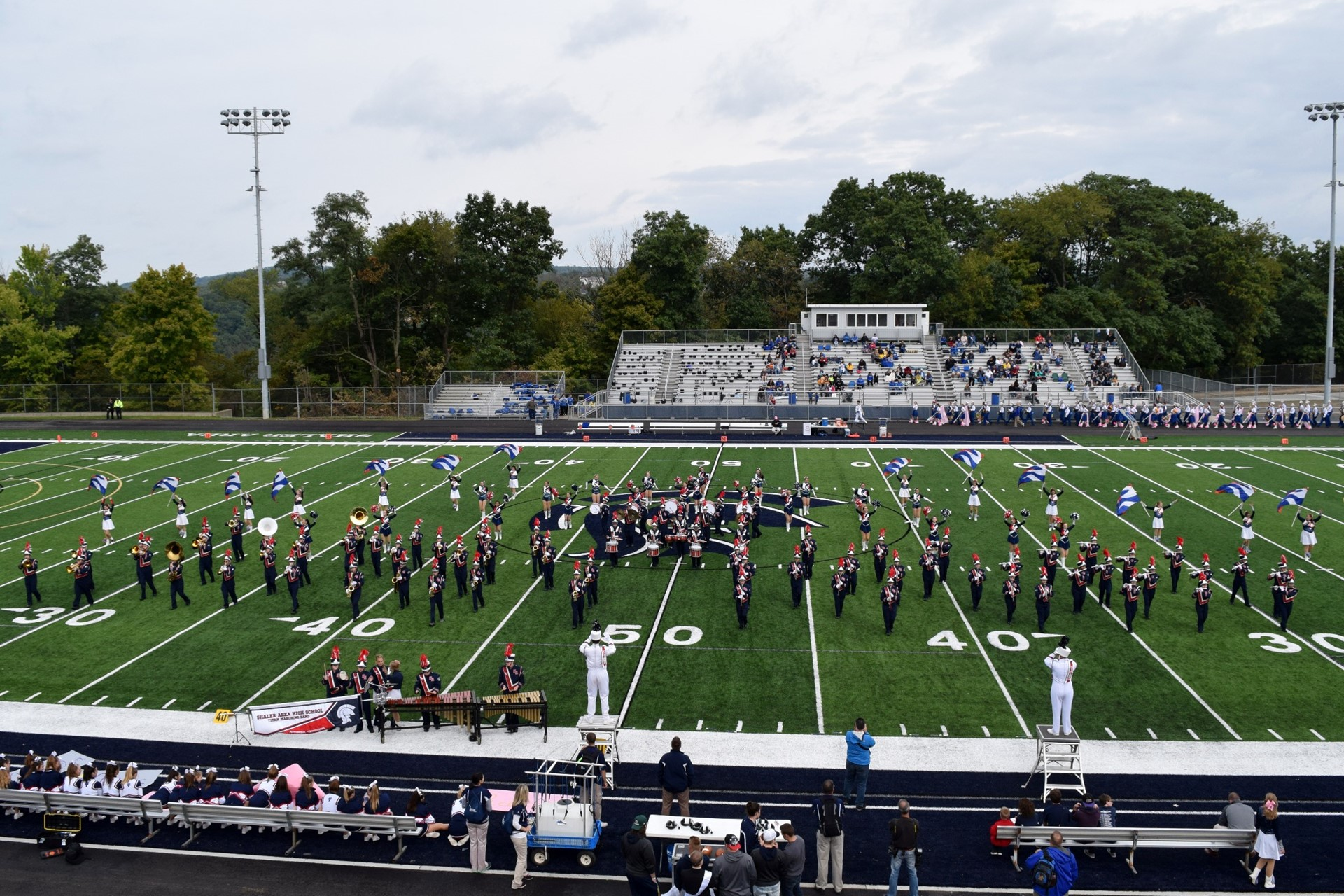 Homecoming 2016: Shaler Area Band performs at halftime