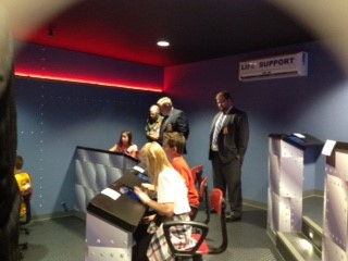 Visitors to Flight Simulator