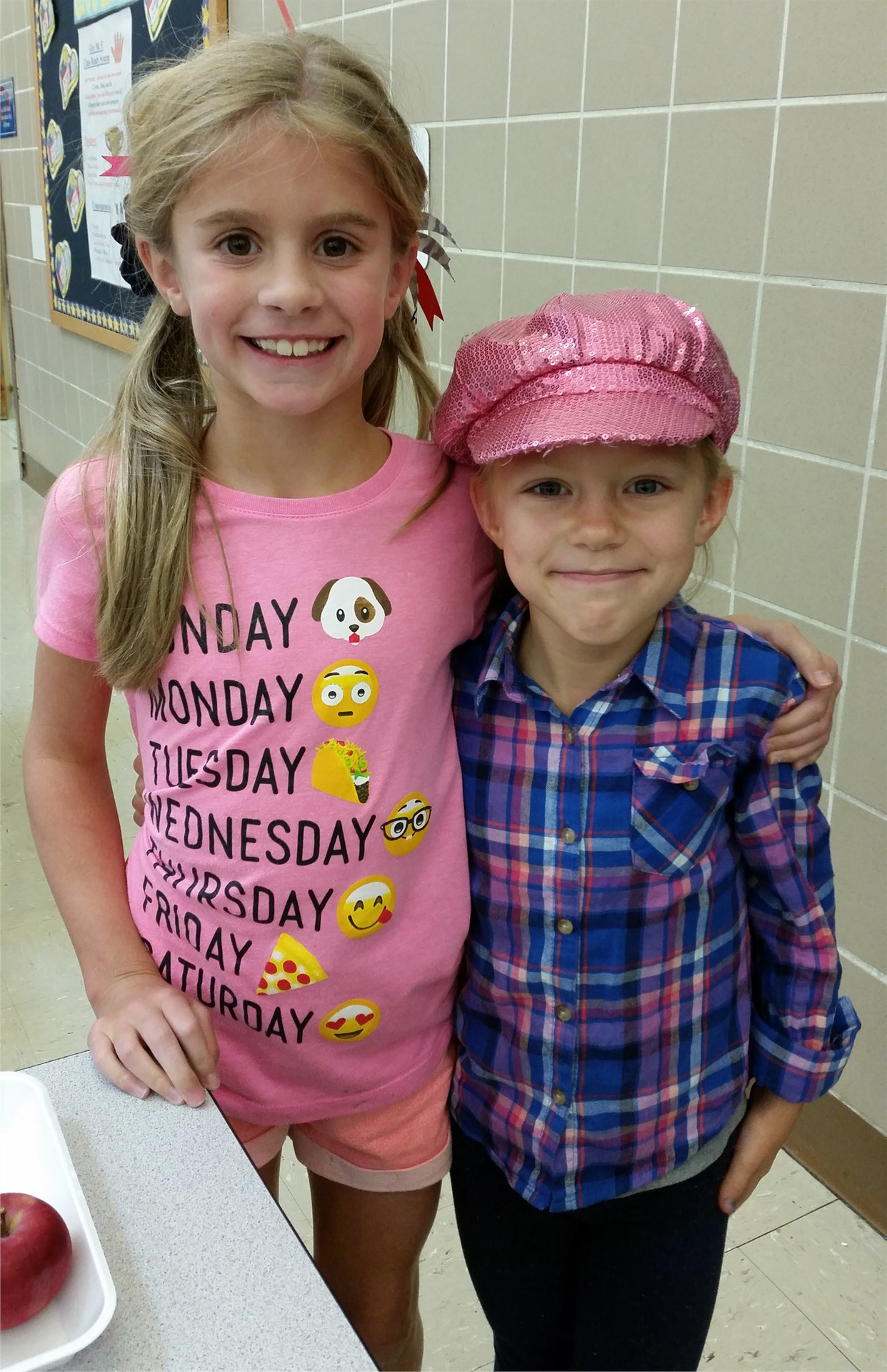 crazy hat/crazy hair day
