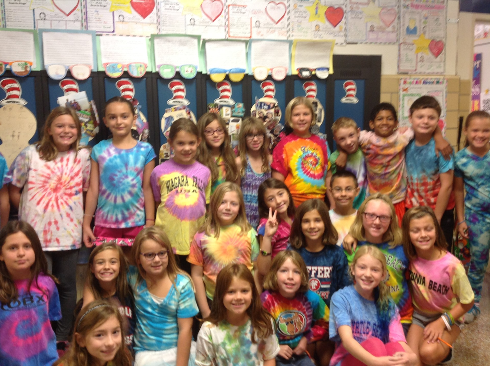 Tie Dye Day at SAES