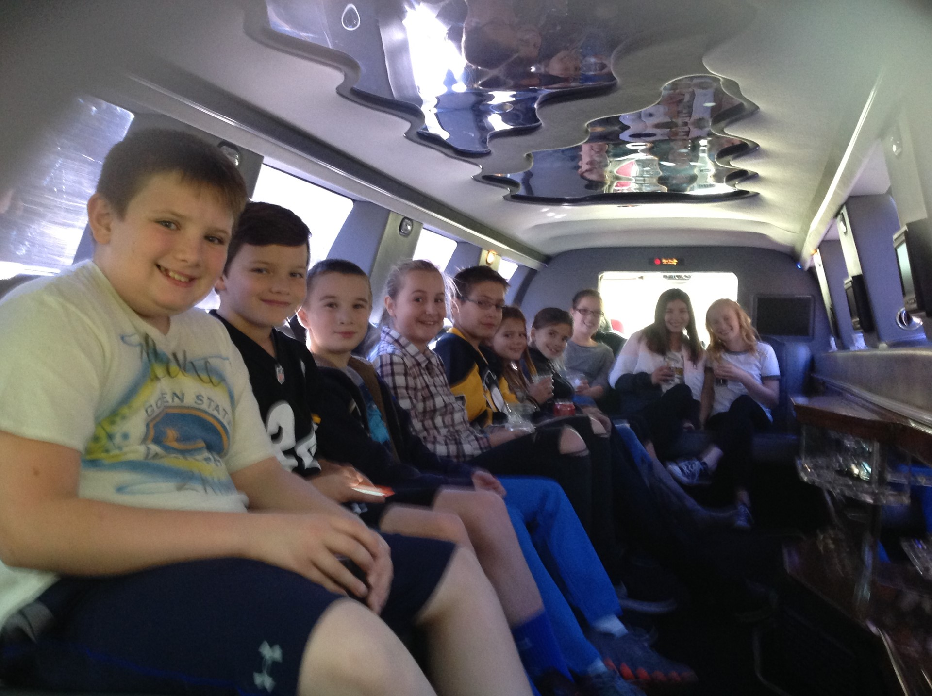 Top Sellers for the Mega Party Limo Ride