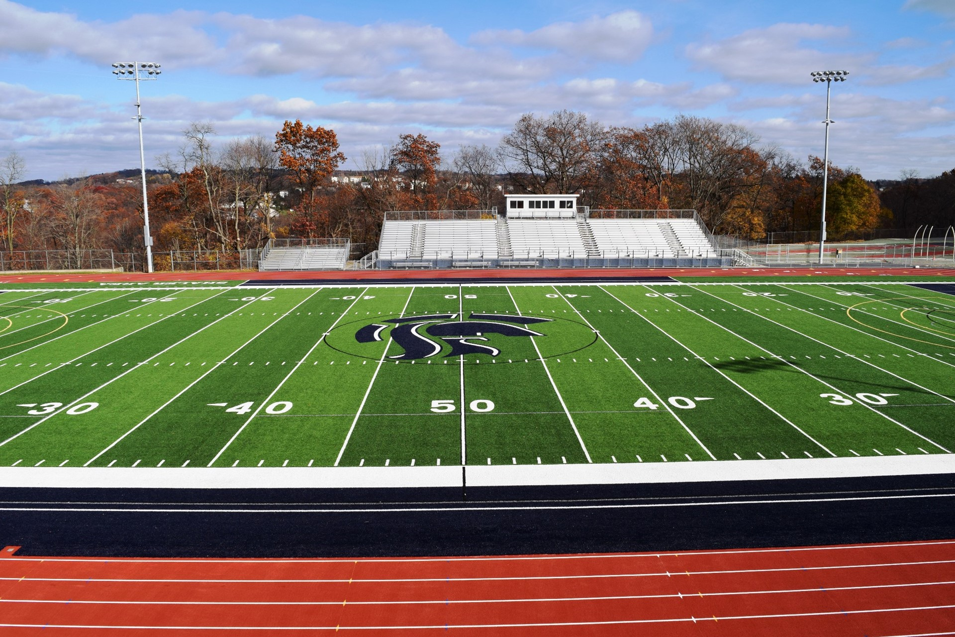 Completed Titan Stadium project