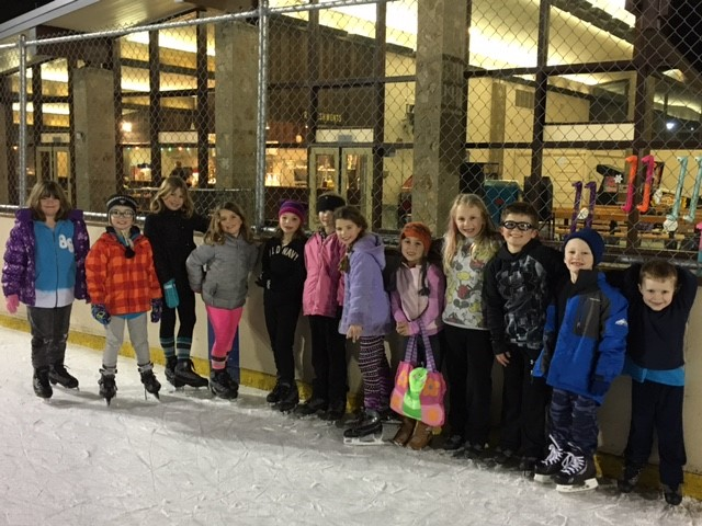 Ice skating to support Reserve Caring Program