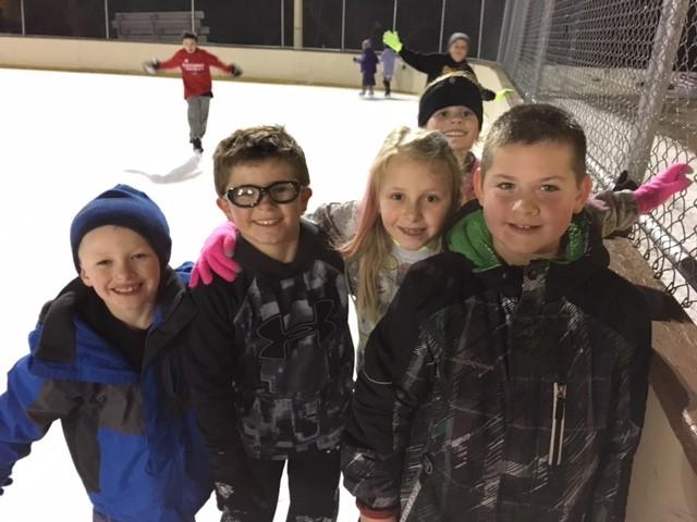 Caring Program Ice Skating Event