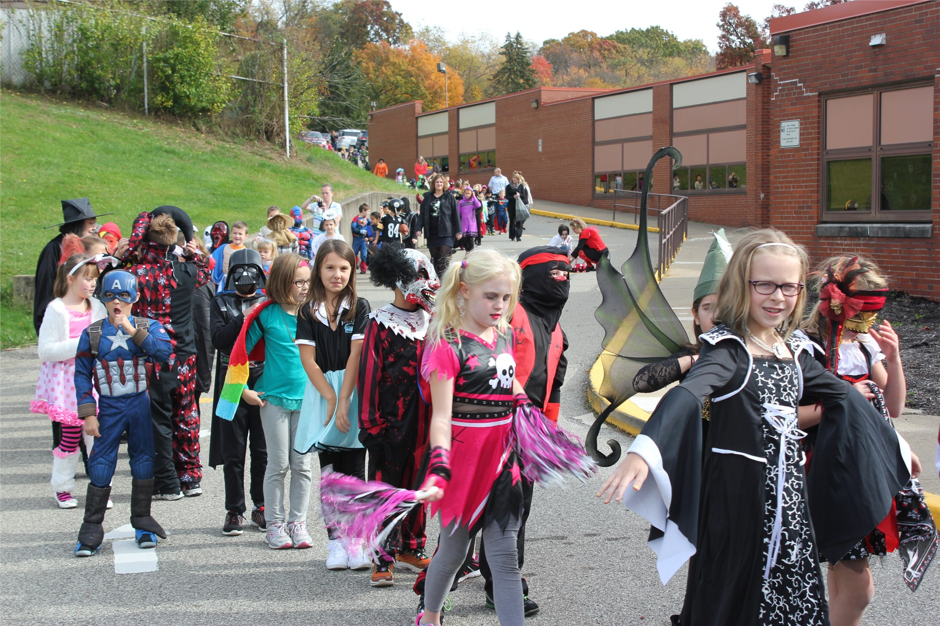 Hallowee Parade