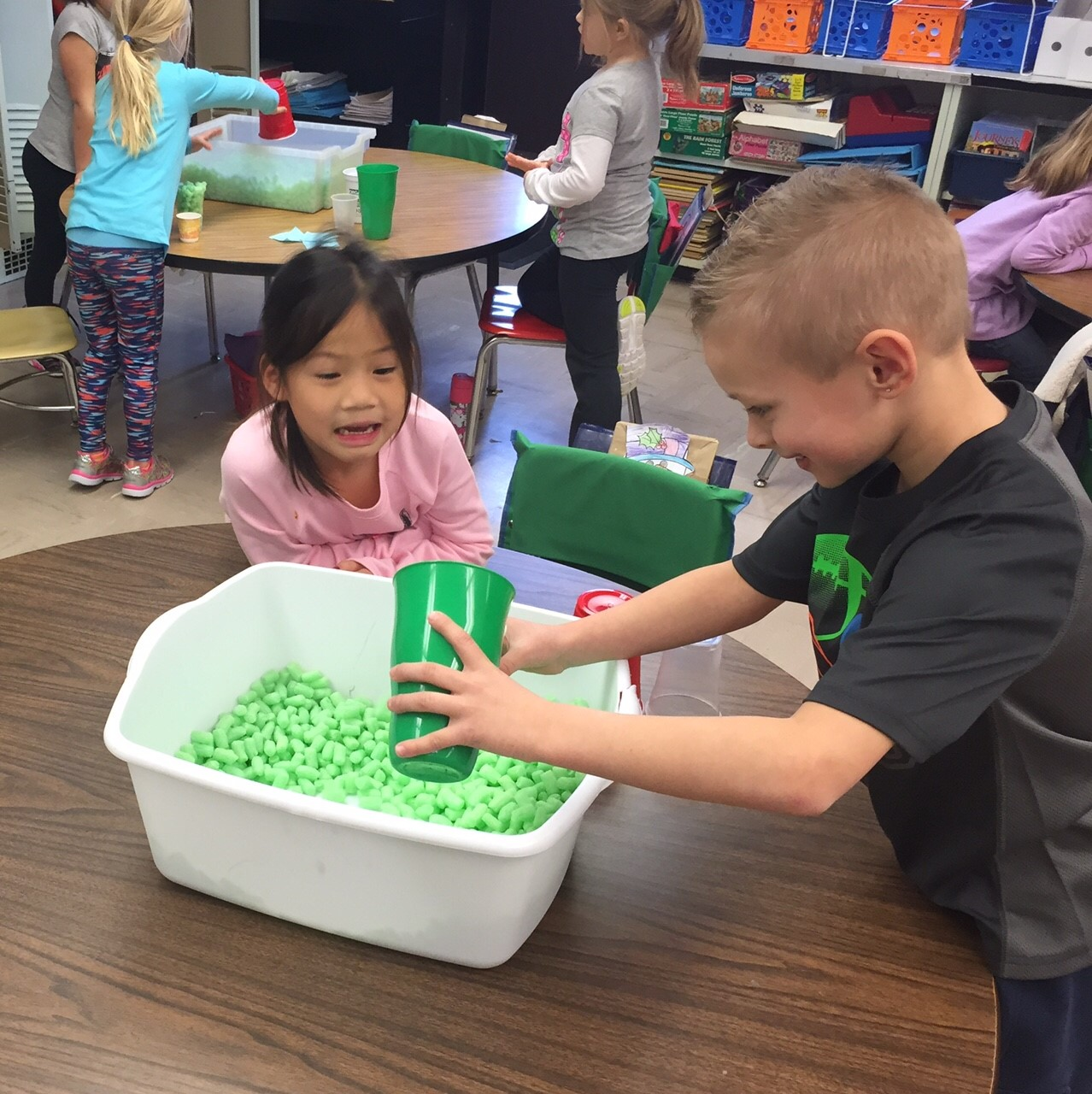 Exploring Capacity in Kindergarten