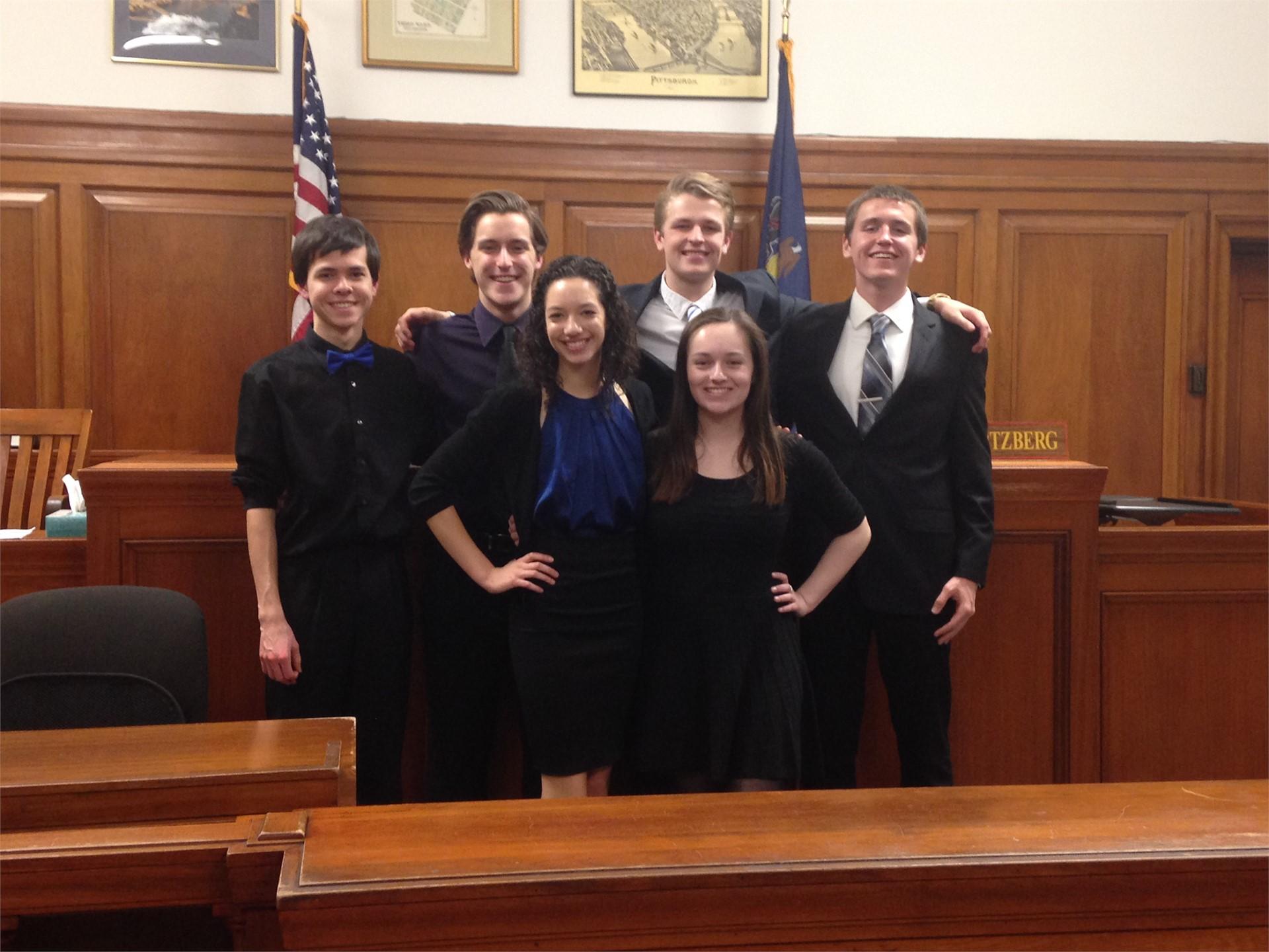 Mock Trial Plaintiff Team