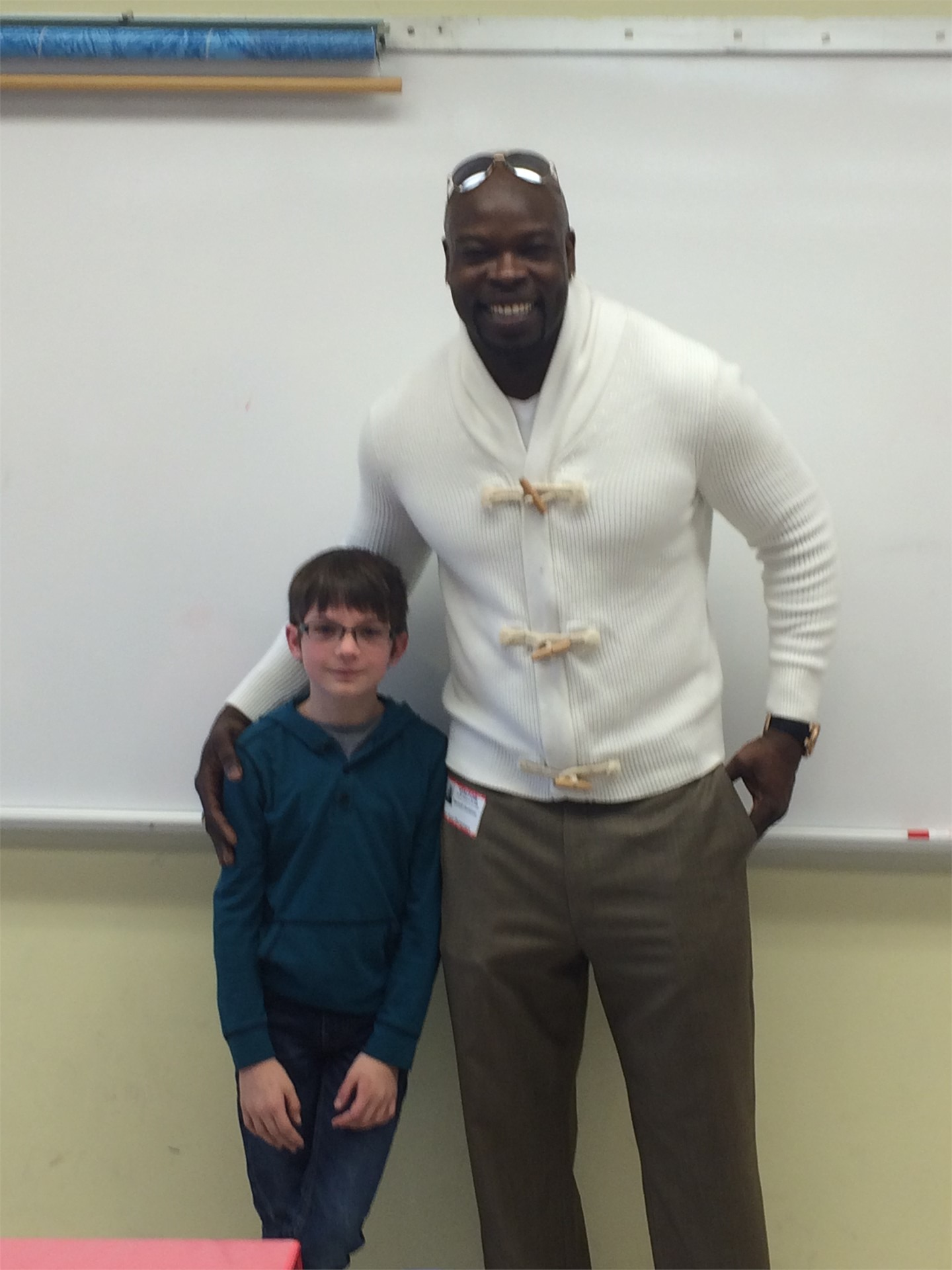 Former NFL Player-Darnell Dinkins-Academics are the first step to success!  Motivational Monday!