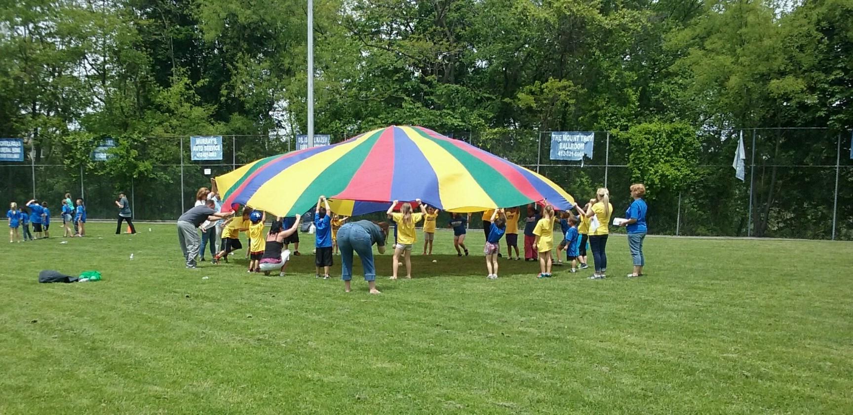 Field Day Parachute 2016