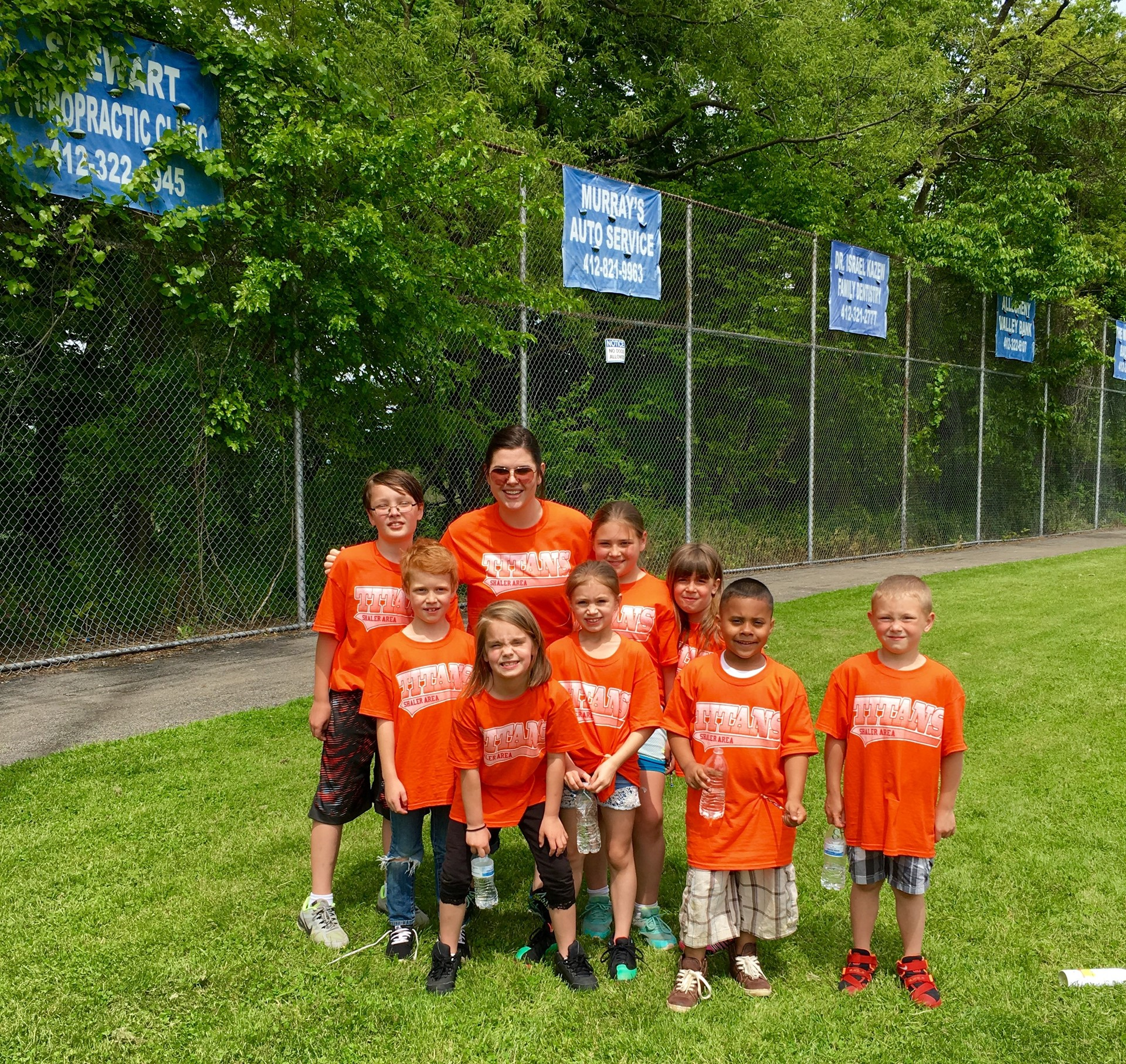 Field Day 2016 - Ms. Hensel and team