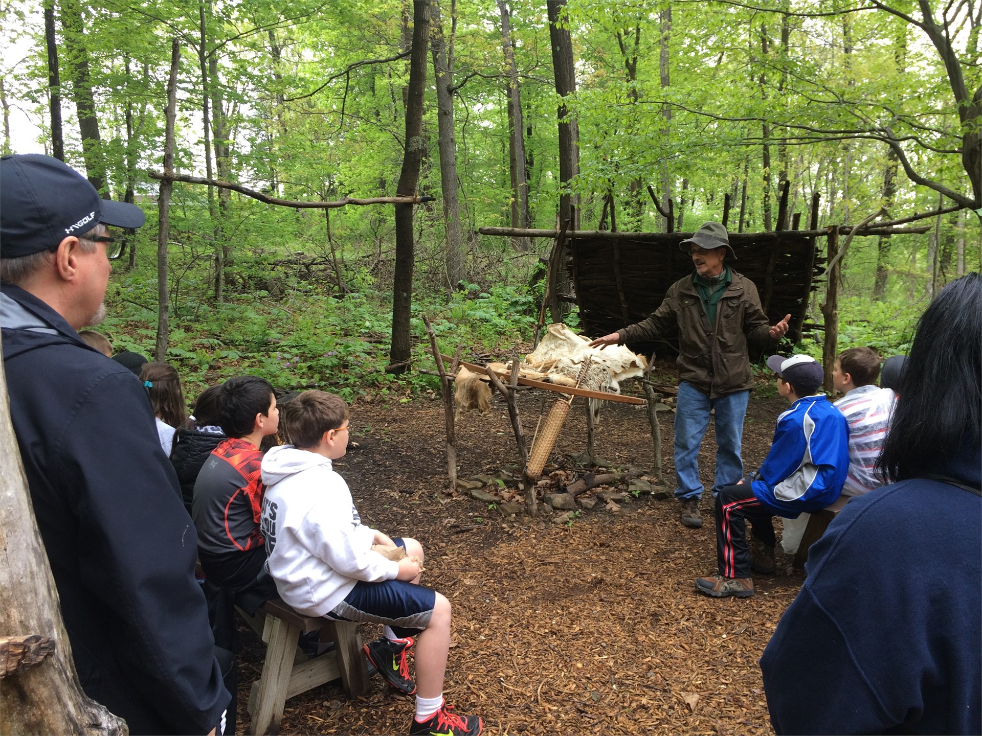 3rd Grade Field Trip - Meadowcroft - Indian Village