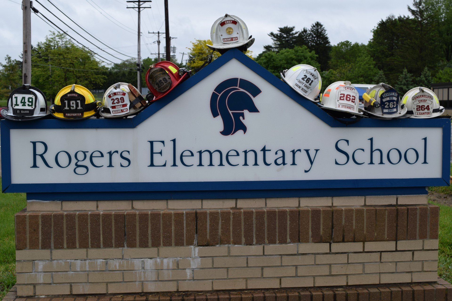 Shaler Area fire departments train at Rogers Primary: May 2016