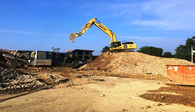 Rogers Primary School demolition: August 2016
