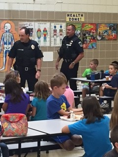 Lunch to Thank our Police Officers