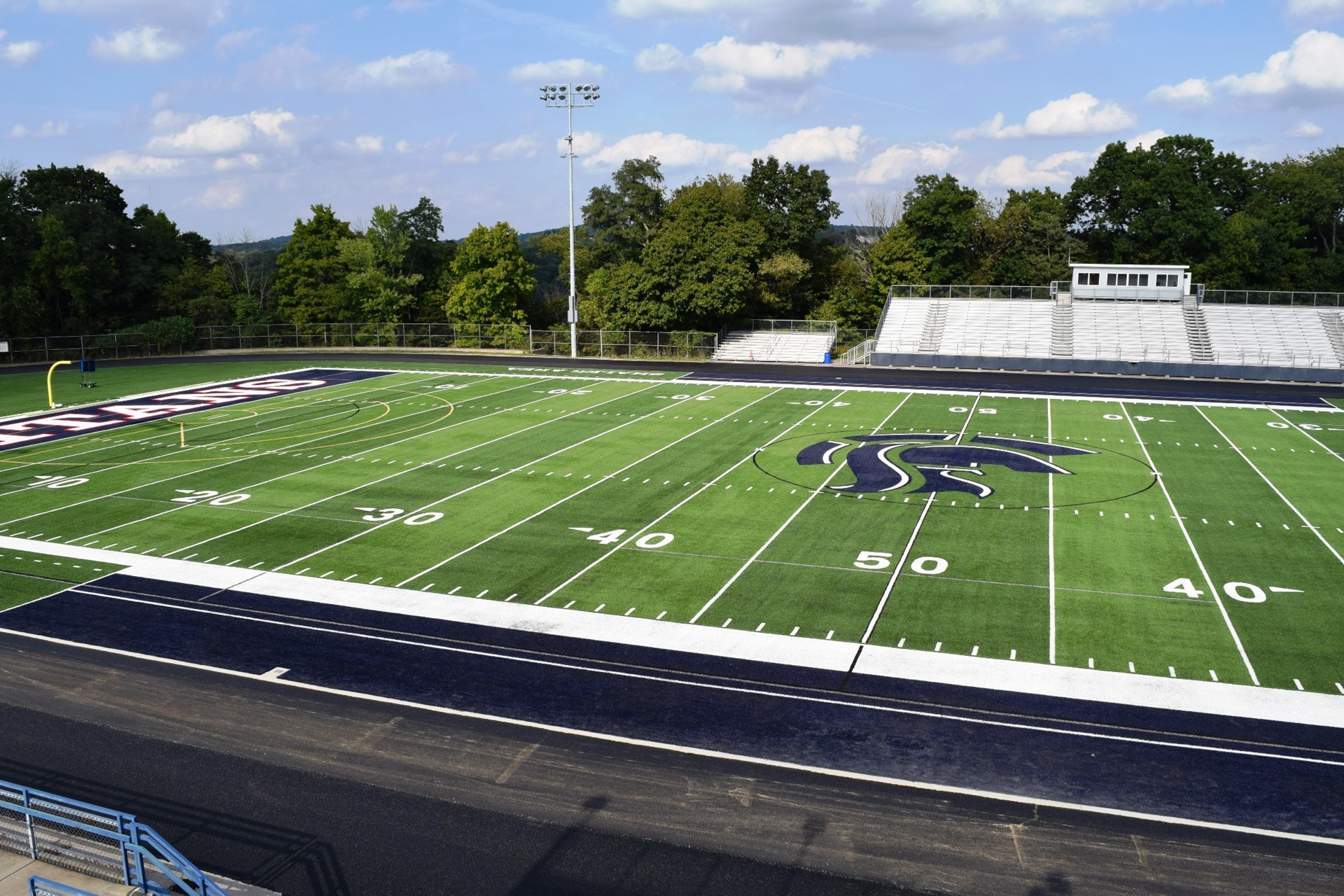 Titan Stadium track work: September 2016