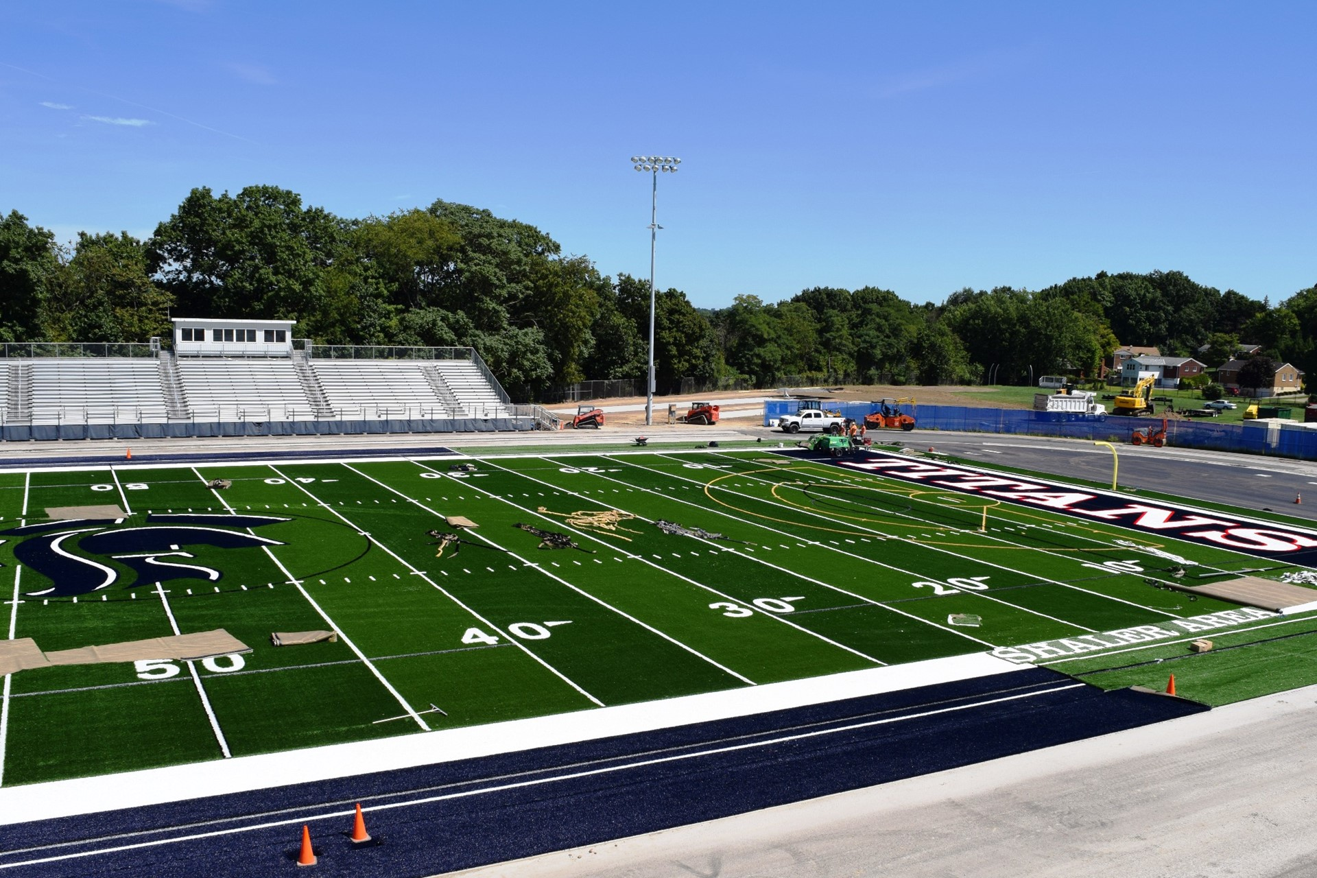 Titan Stadium turf installation: September 2016