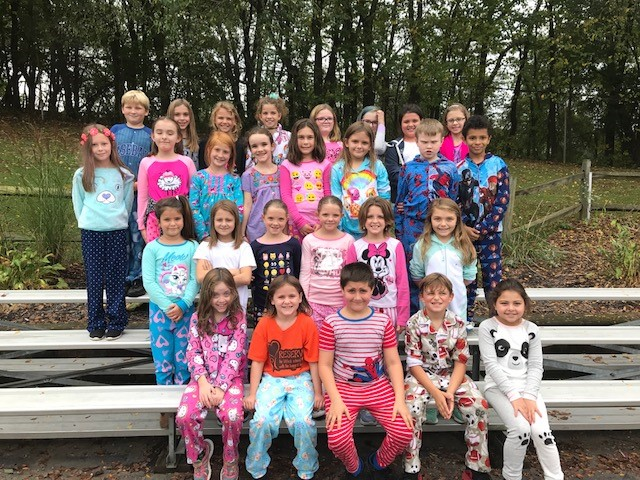 Third Grade Pajama Day