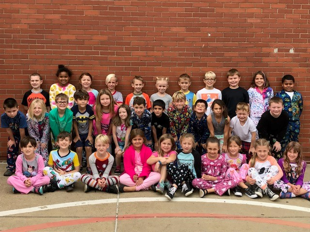 Second Grade Pajama Day