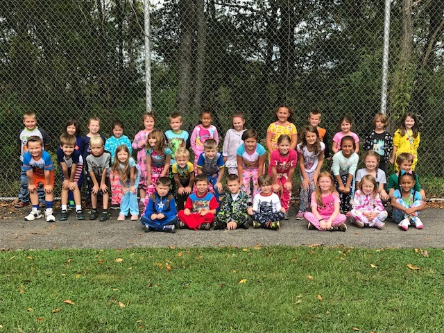 First Grade Pajama Day