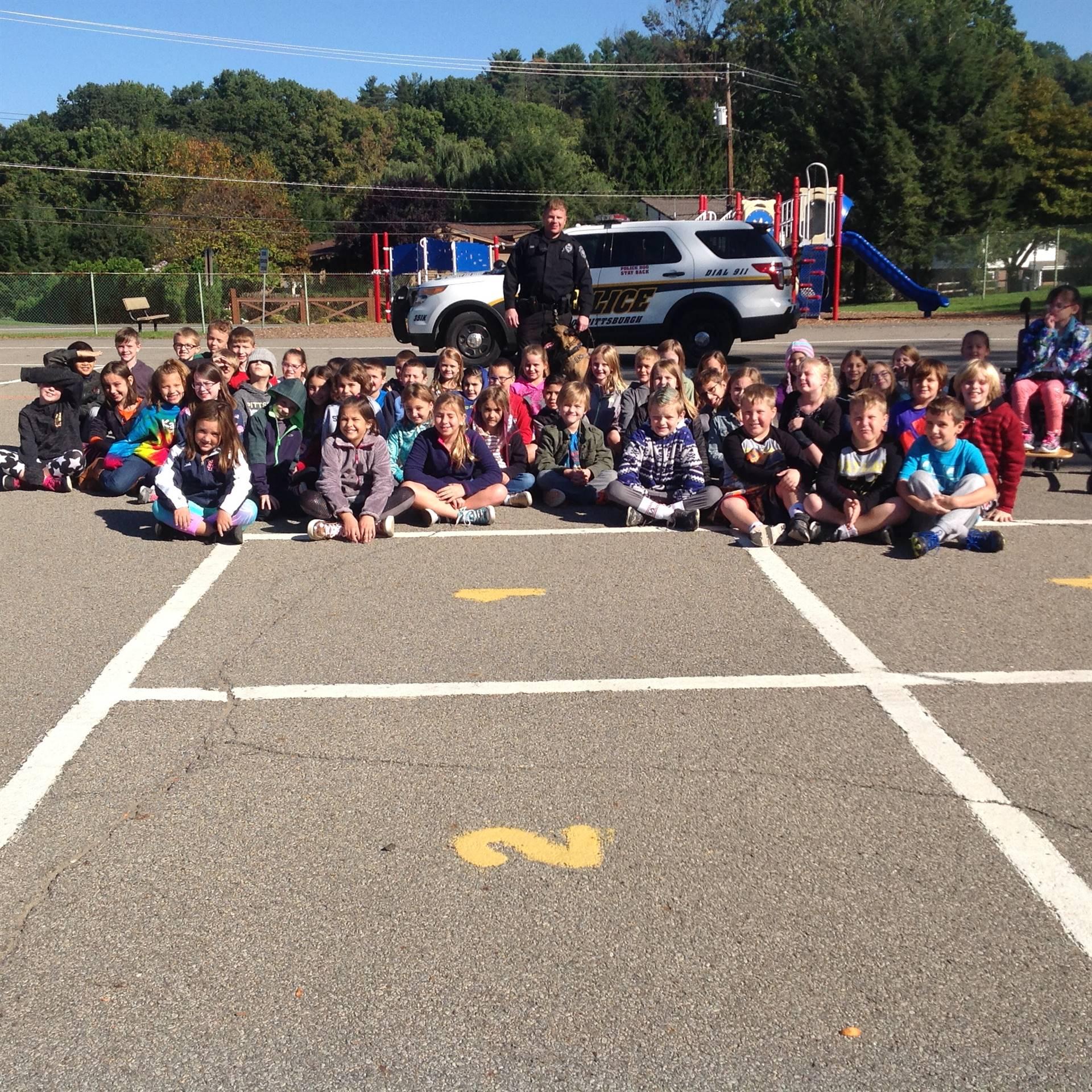 K9 Visit - Third Grade