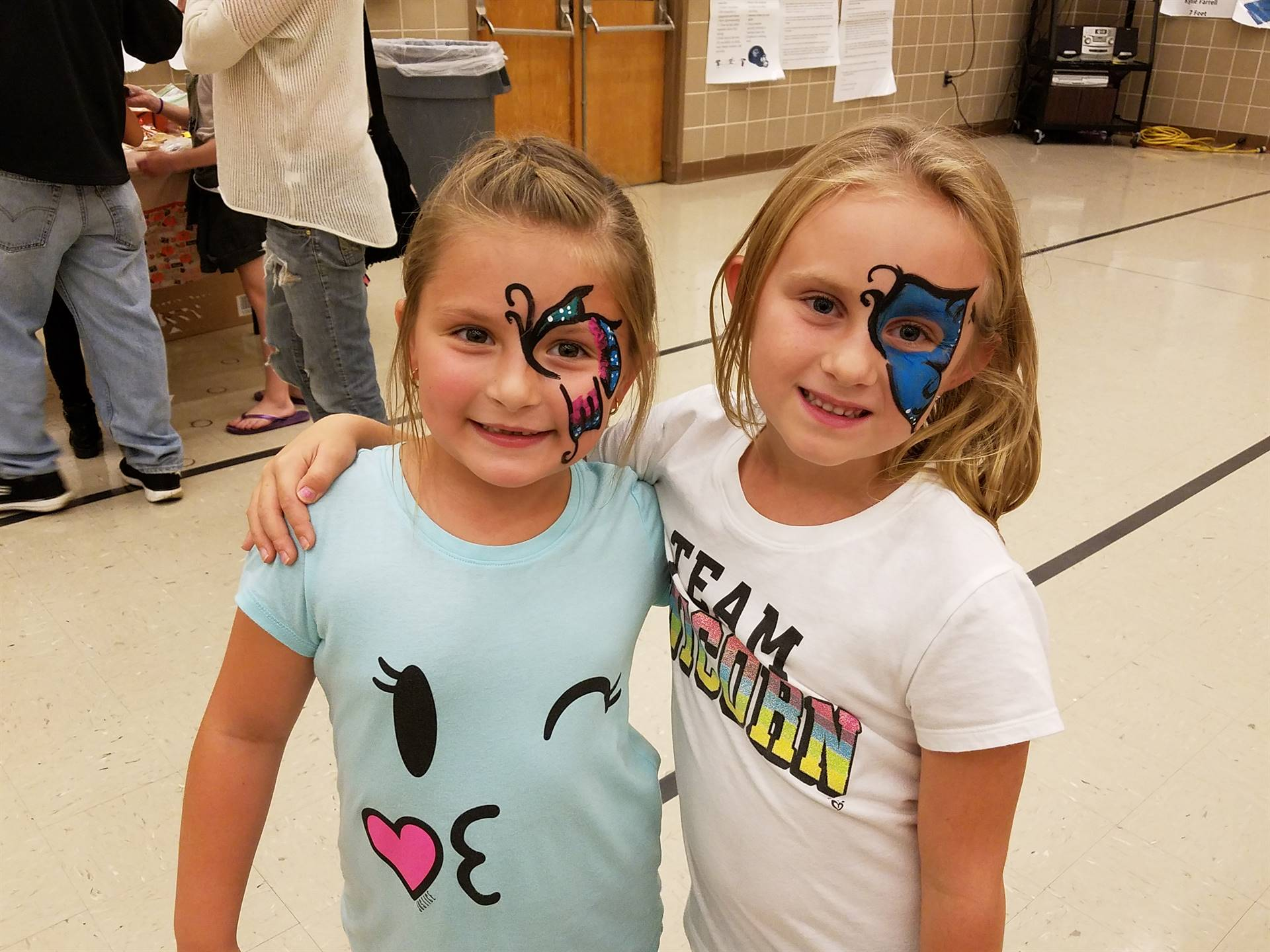 Face Painted Beauties - Fall Festival