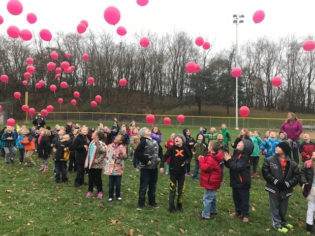 Children's Grief Awareness Day - Memorial Balloon Release,  Kindergarten and 1st Grade