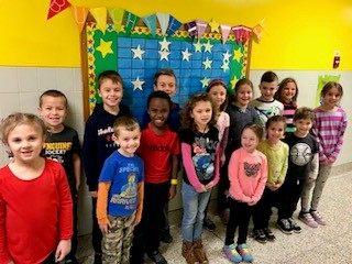 Burchfield STAR students for the week