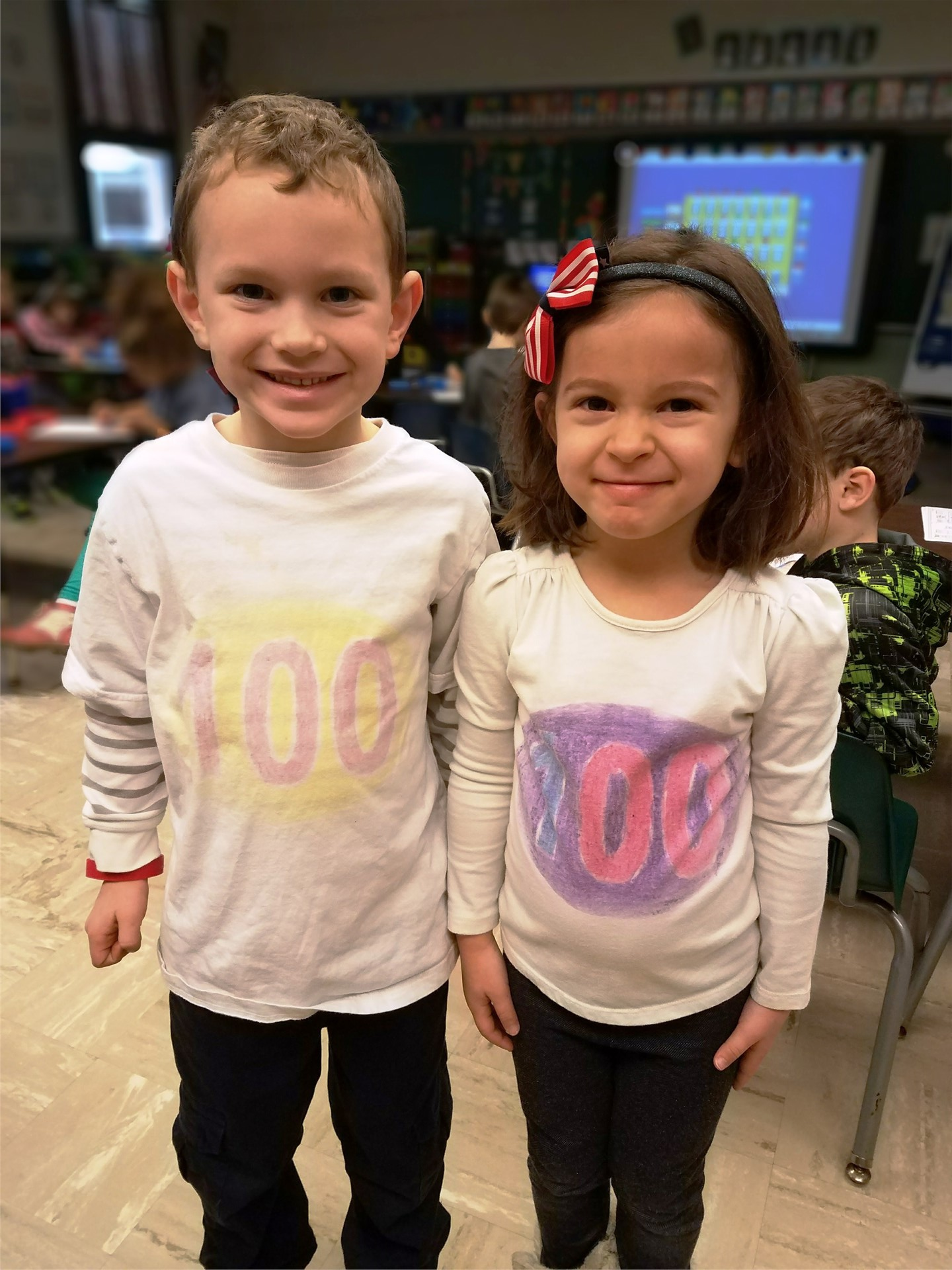 KB celebrates The 100th Day of School