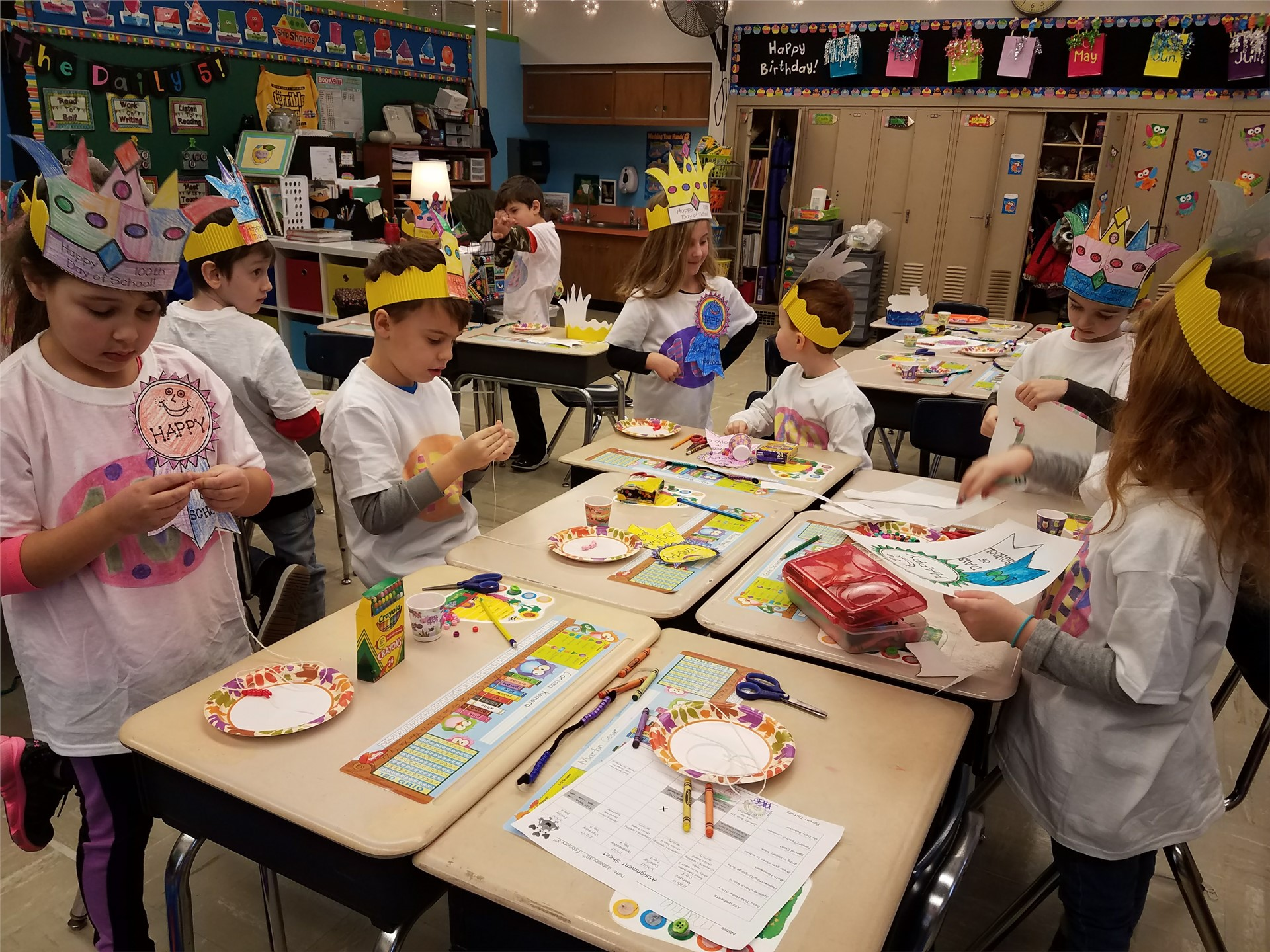 1C Celebrates The 100 Day of School