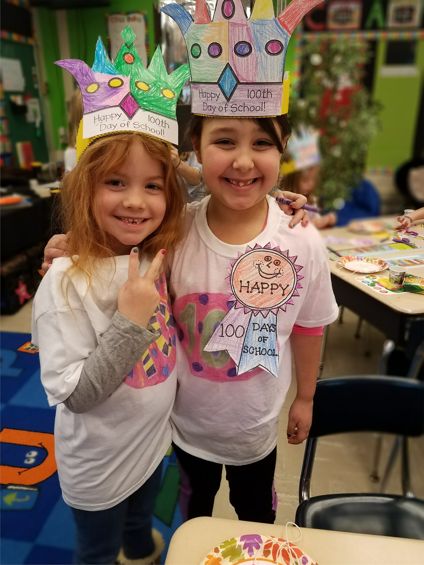 1C Celebrates The 100th Day of School