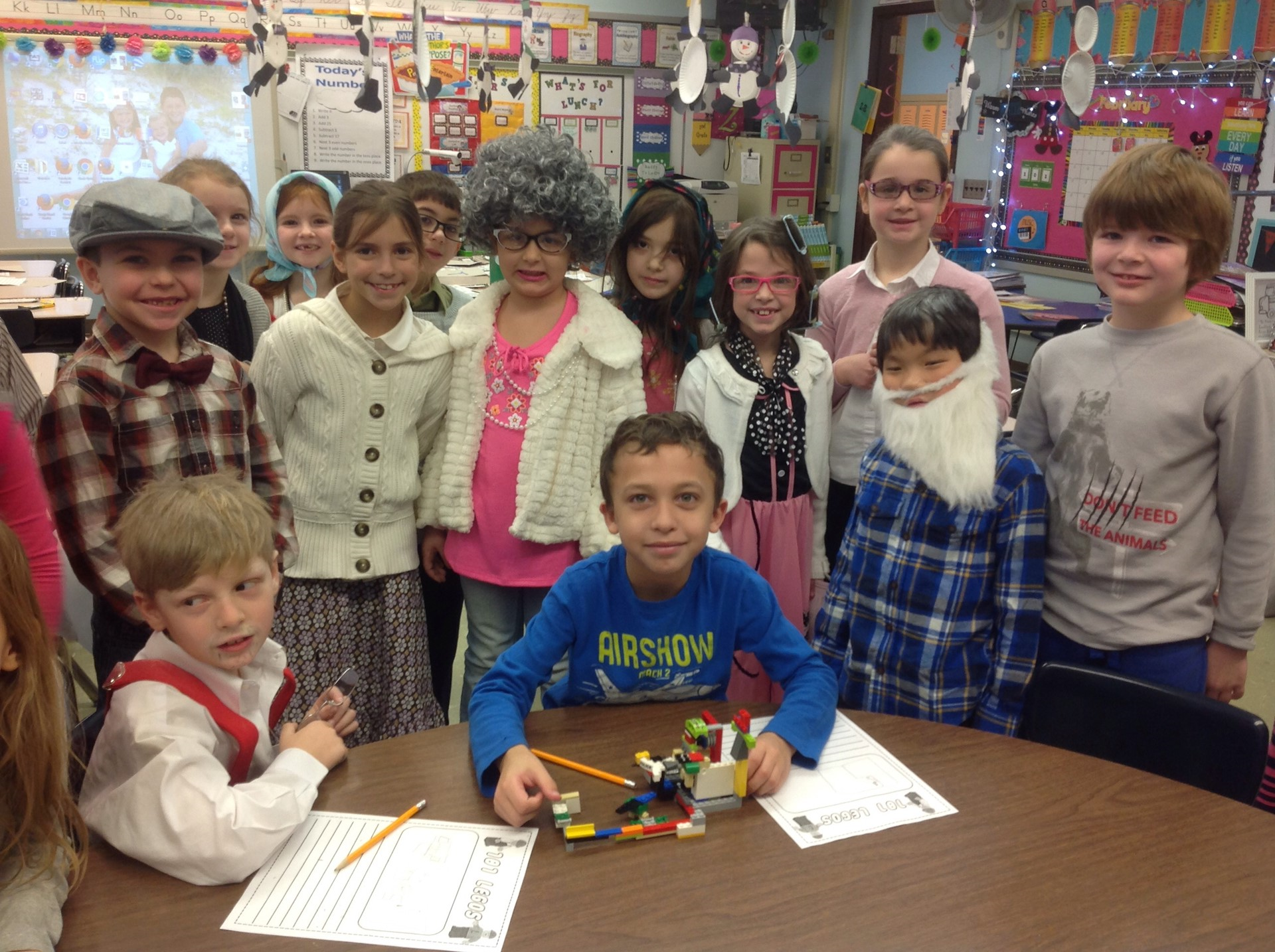2B celebrates the 101th day of school