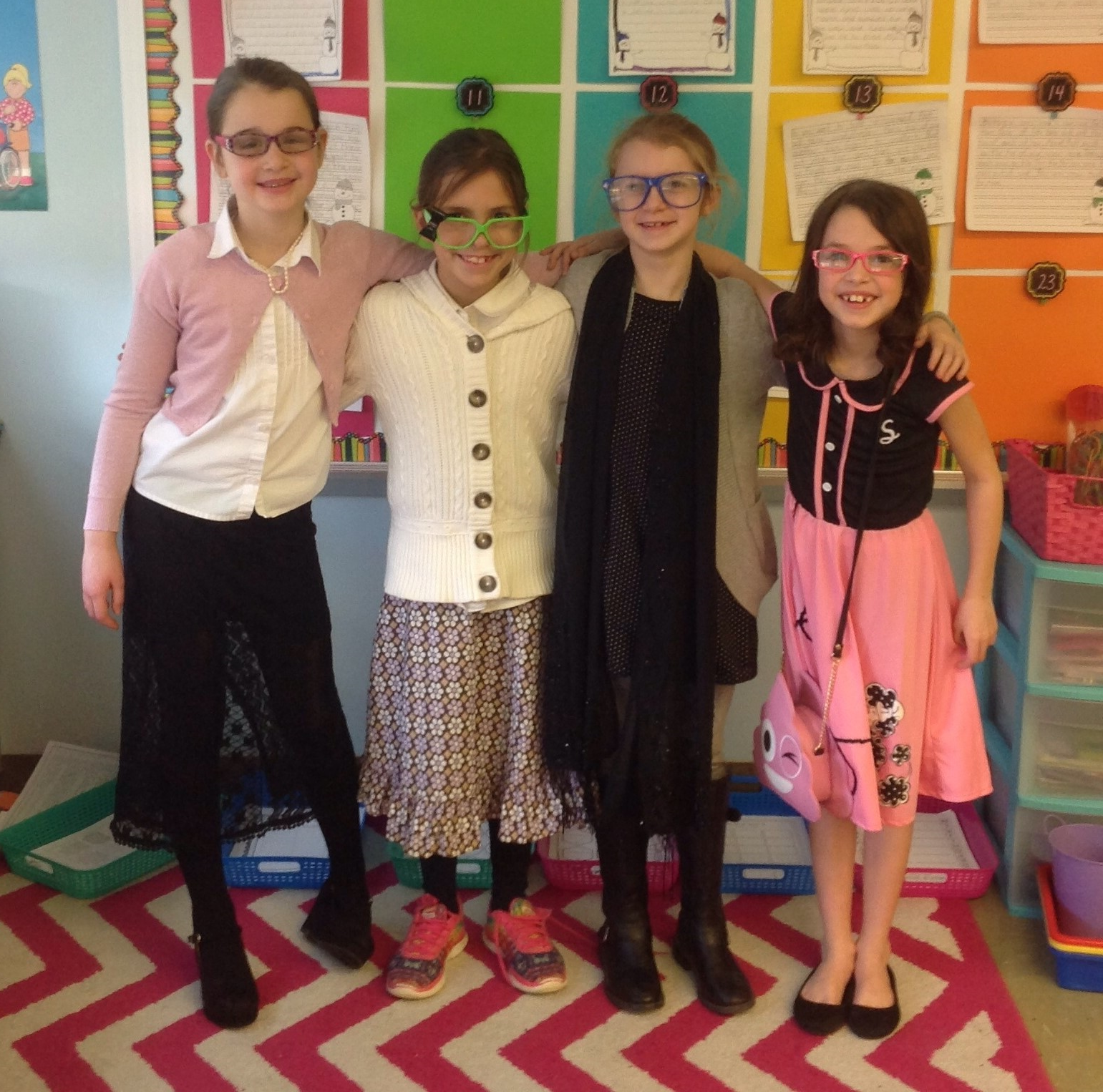 2B is celebrating the 101th day of school