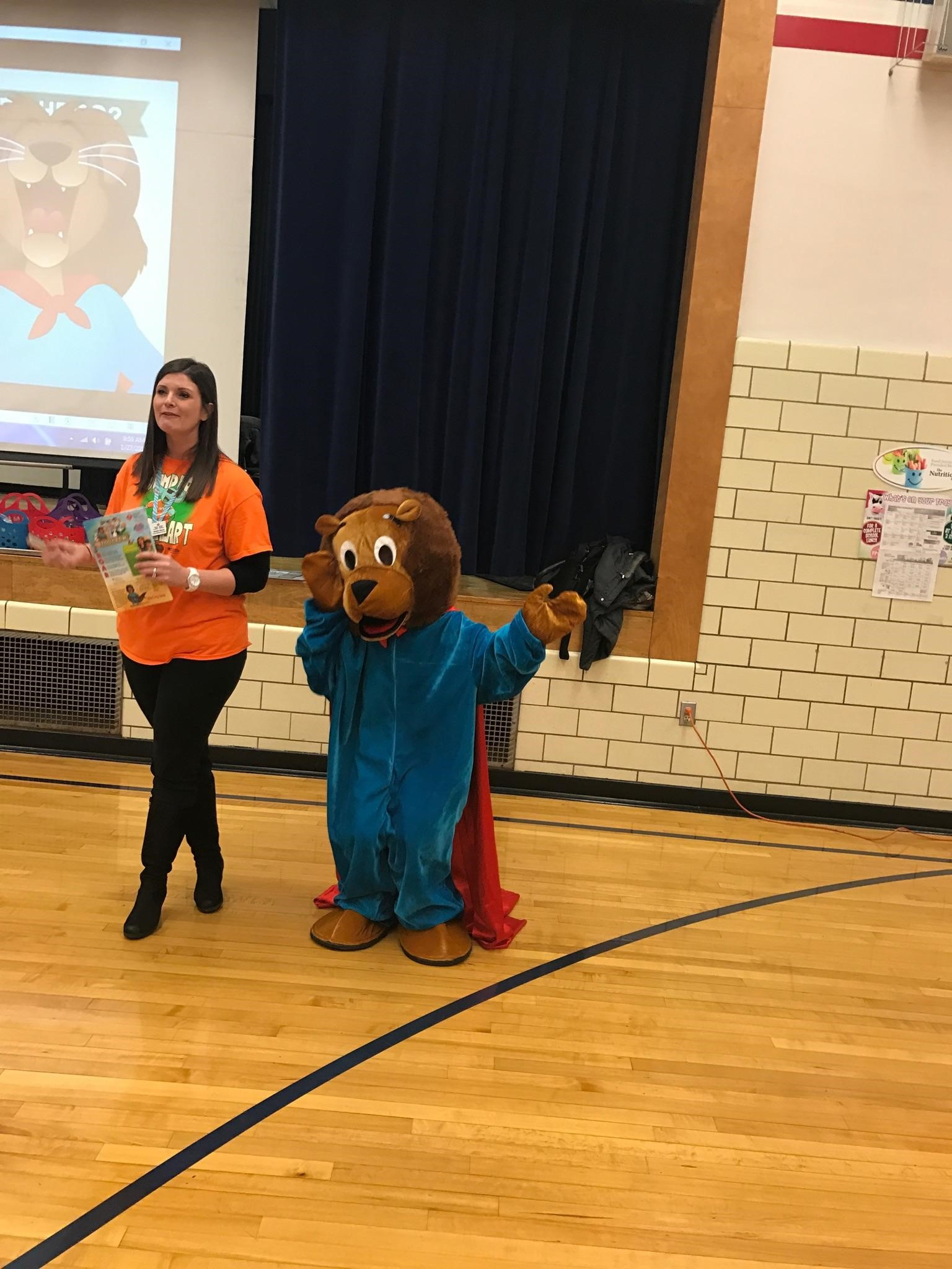 Jump rope for Heart Assembly