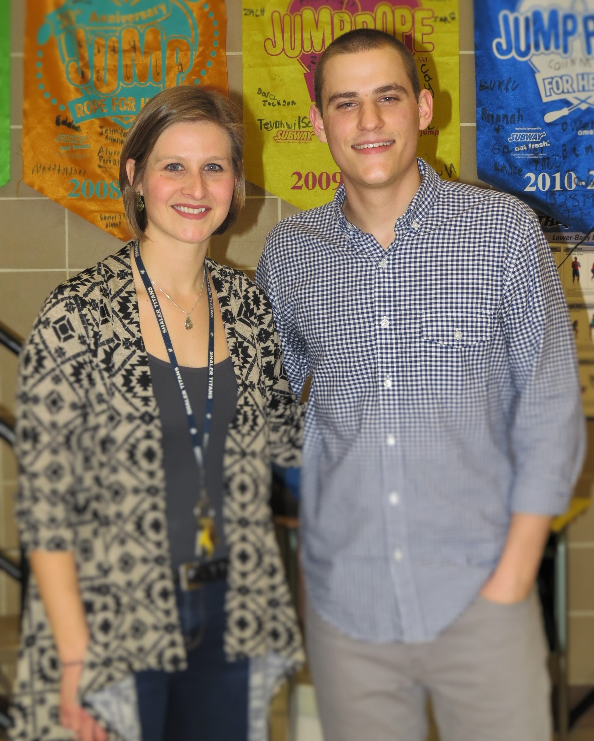 Mrs. Susan Randall and Mr. Chris Jamison