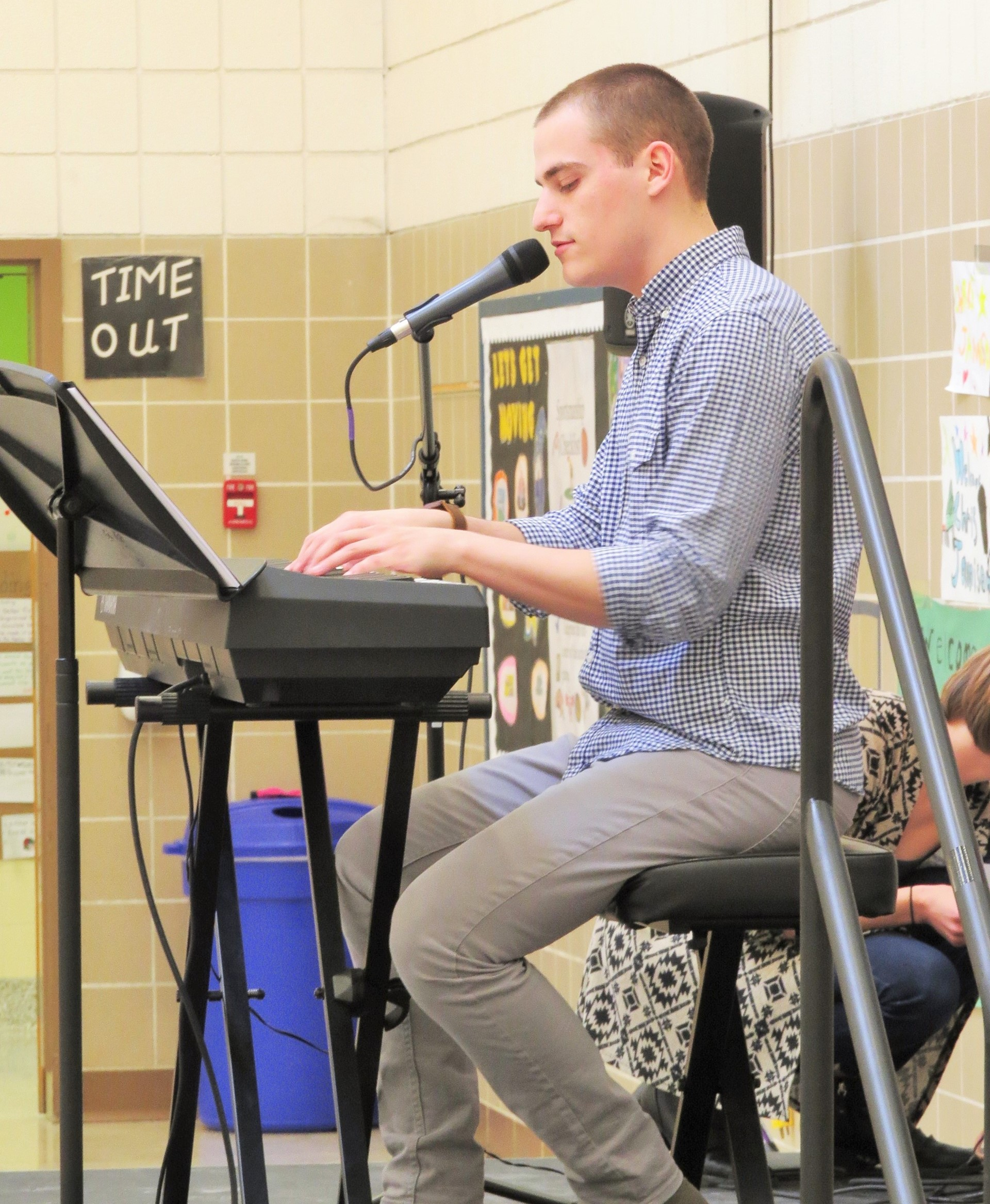 Mr. Chris Jamison visits Burchfield