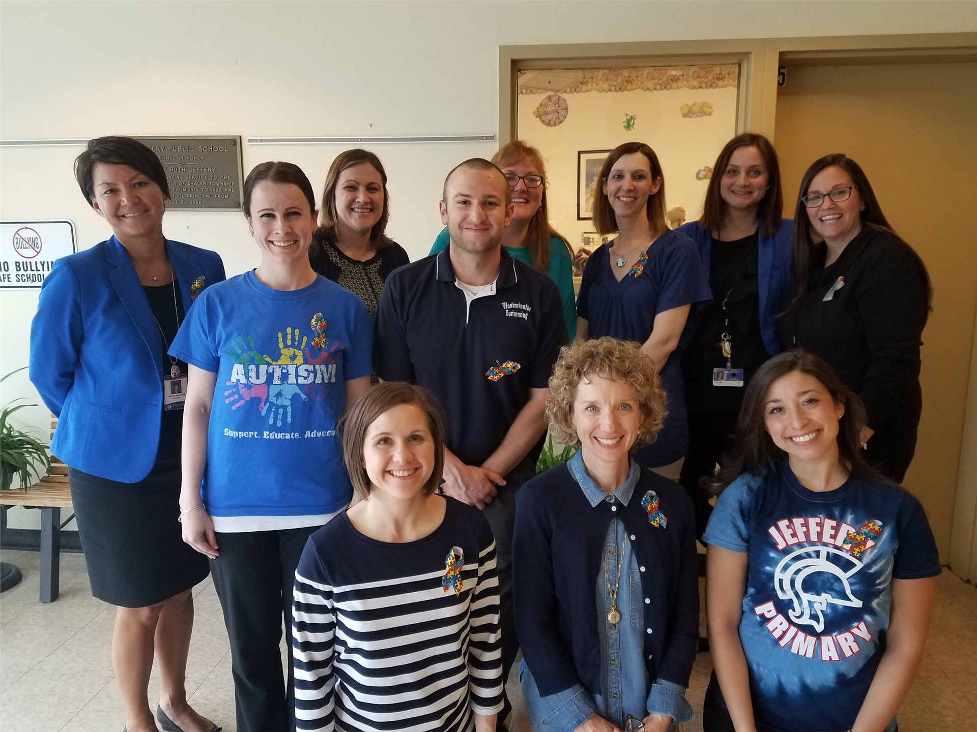 """Light It Up Blue"" Day for Autism Awareness"