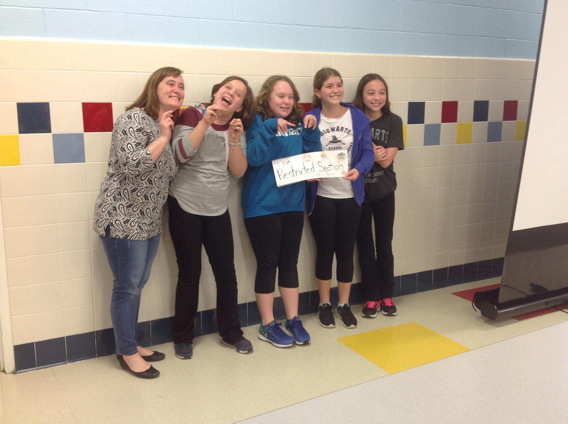 1st Place Winners of Battle of the Books:The Restricted Section