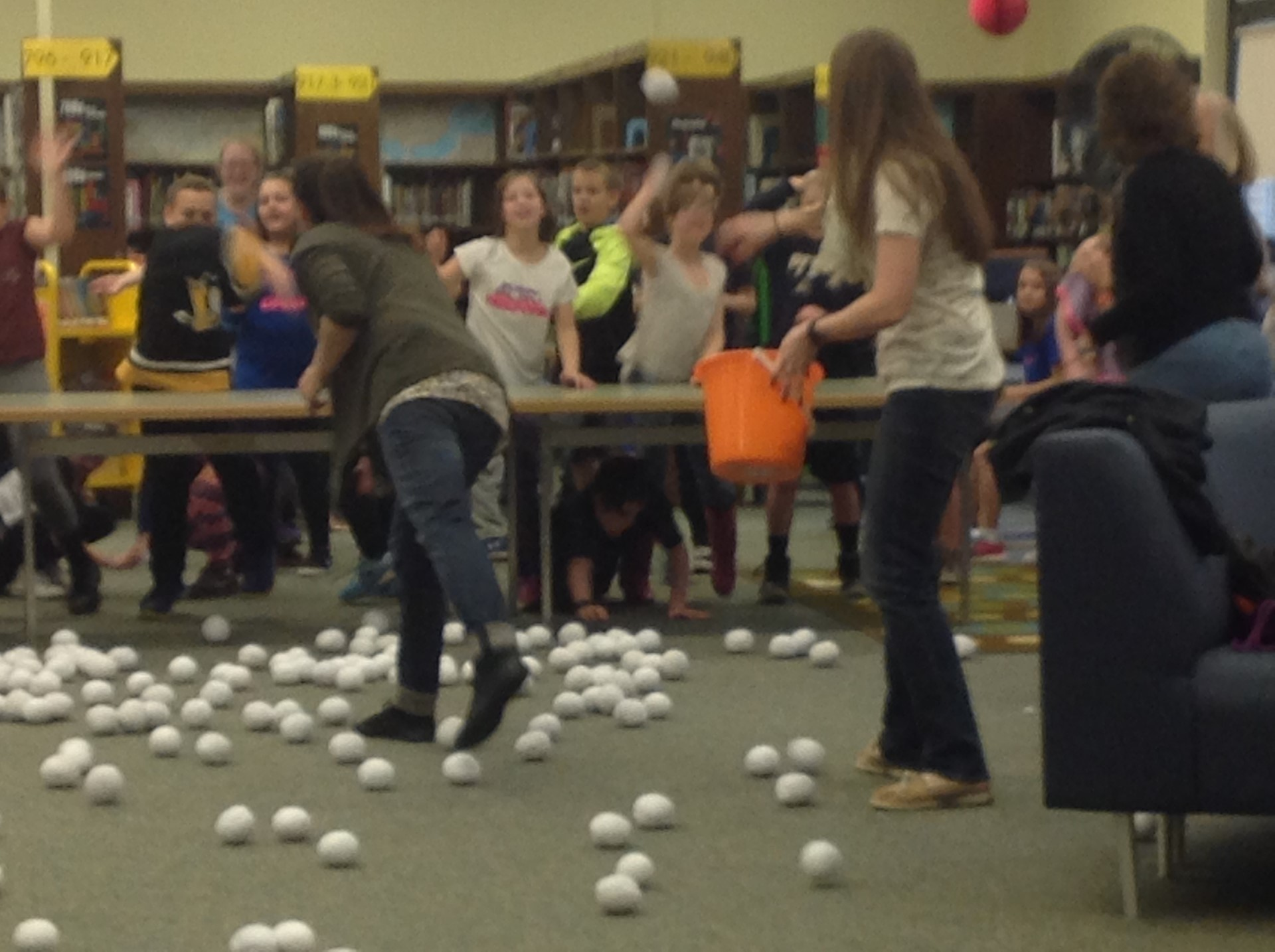 Snowball Fight for ELA Classes with Most Words Read