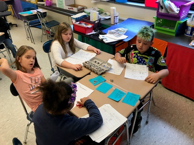 Third Grade learns about minerals