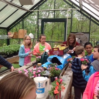 4th grade greenhouse visit