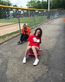 Field Day Teacher Race