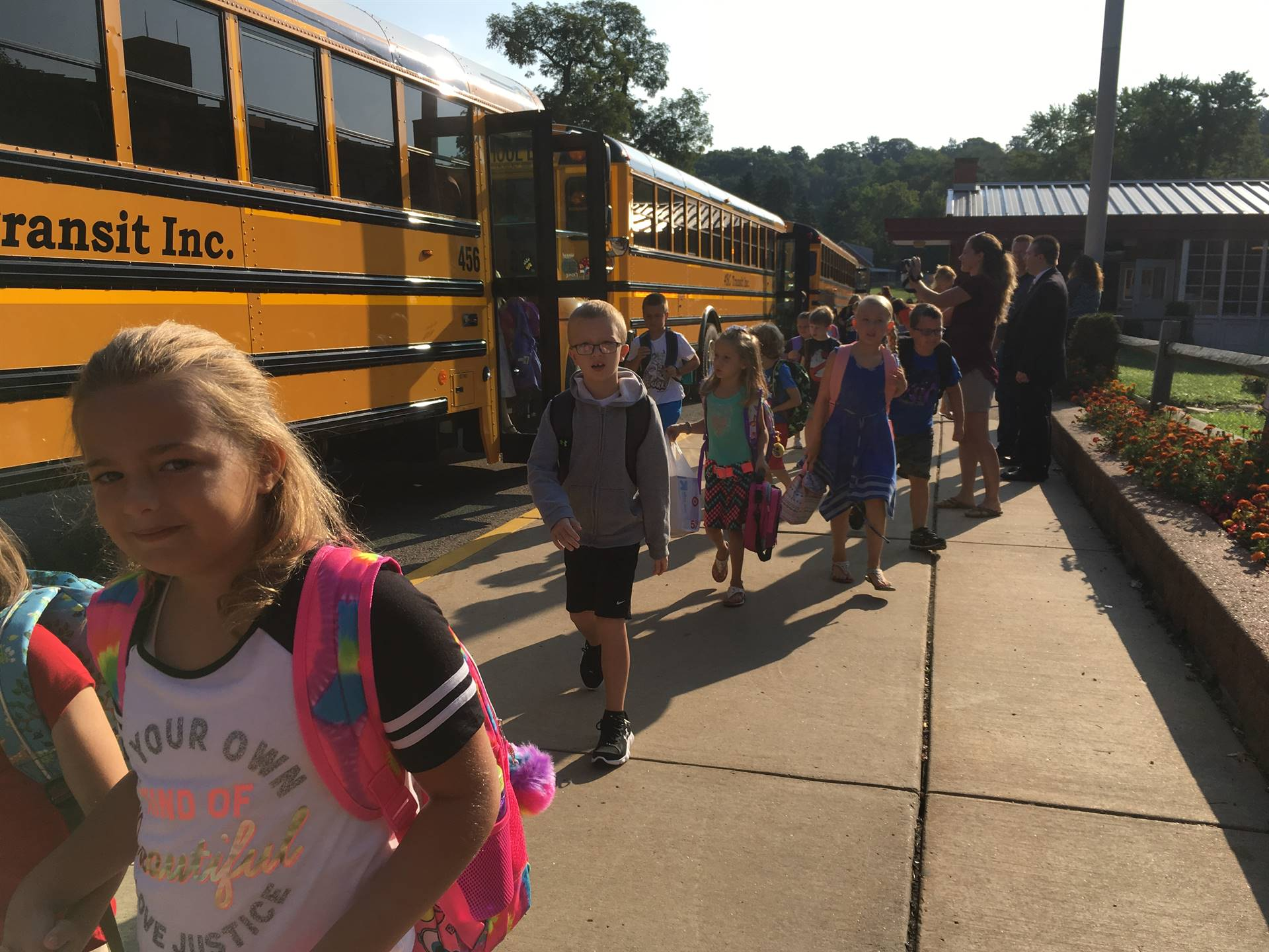 First Day of School 2017-2018