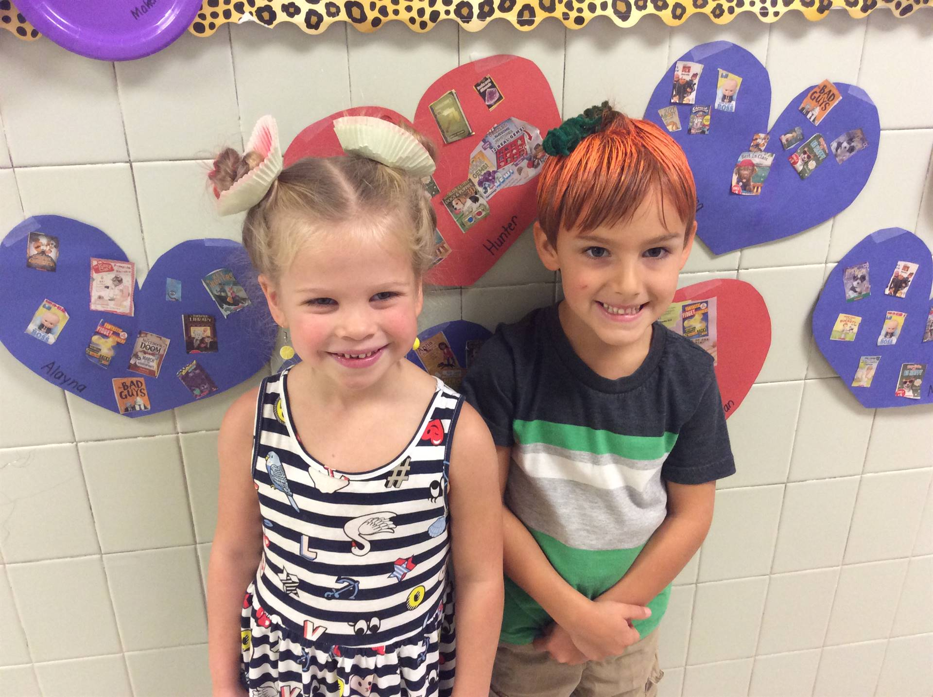 Crazy Hair Day with K-B